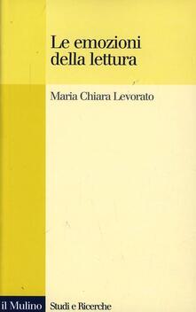 Le emozioni della lettura - Maria Chiara Levorato - copertina