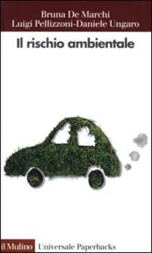 Il rischio ambientale - Bruna De Marchi,Luigi Pellizzoni,Daniele Ungaro - copertina