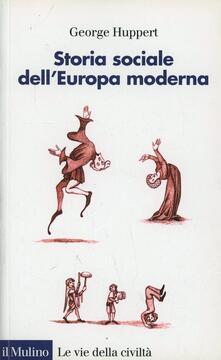 Librisulrazzismo.it Storia sociale dell'Europa moderna Image