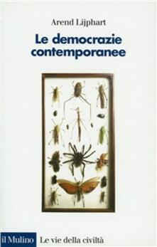 Le democrazie contemporanee - Arend Lijphart - copertina
