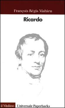 Ricardo - F. Régis Mahieu - copertina