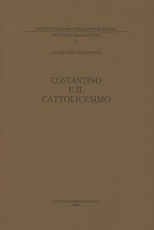 Ristorantezintonio.it Costantino e il cattolicesimo. Vol. 1 Image