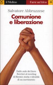 Libro Comunione e Liberazione Salvatore Abbruzzese