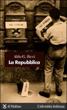 La Repubblica - Aldo G. Ricci - copertina