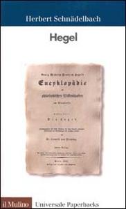 Libro Hegel Herbert Schnädelbach
