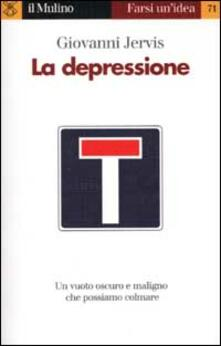 La depressione - Giovanni Jervis - copertina