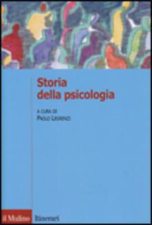 Storia della psicologia - copertina