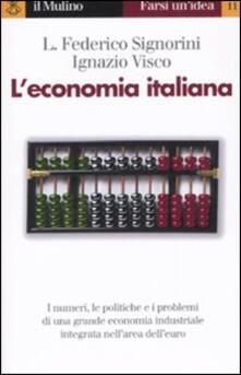 Recuperandoiltempo.it L' economia italiana Image