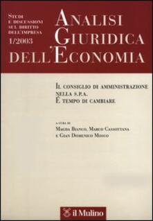 Letterarioprimopiano.it Analisi giuridica dell'economia (2003). Vol. 1 Image