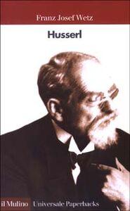 Libro Husserl Franz J. Wetz