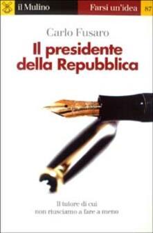 Letterarioprimopiano.it Il presidente della Repubblica Image