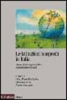 Ipabsantonioabatetrino.it Le istituzioni nonprofit in Italia. Dimensioni organizzative, economiche e sociali Image