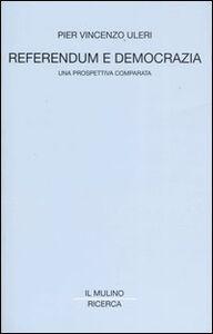 Libro Referendum e democrazia. Una prospettiva comparata P. Vincenzo Uleri