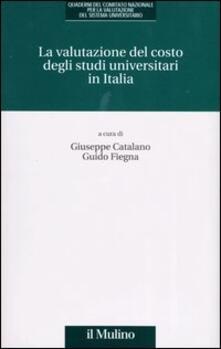 Aboutschuster.de La valutazione del costo degli studi universitari in Italia Image