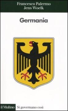 Germania - Francesco Palermo,Jens Woelk - copertina