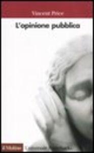 Libro L' opinione pubblica Vincent Price