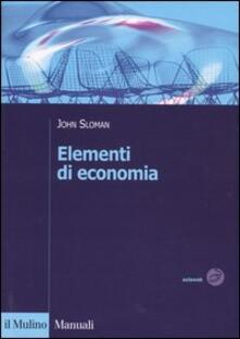 Recuperandoiltempo.it Elementi di economia Image