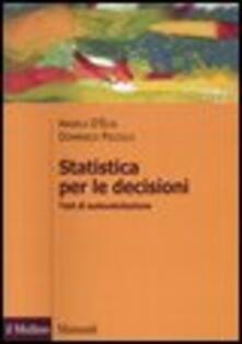 Voluntariadobaleares2014.es Statistica per le decisioni. Test di autovalutazione Image