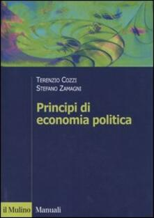 Principi di economia politica - Terenzio Cozzi,Stefano Zamagni - copertina