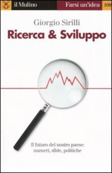 Ricerca & sviluppo - Giorgio Sirilli - copertina