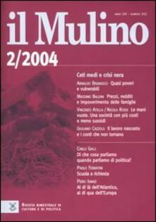 Il Mulino. Vol. 412 - copertina