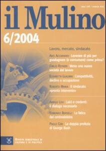 Il Mulino. Vol. 416