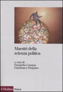 Libro Maestri della scienza politica