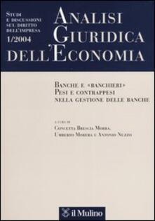 Analisi giuridica dell'economia (2004). Vol. 1 - copertina