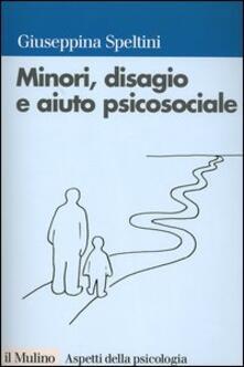 Minori, disagio e aiuto psicosociale - copertina