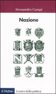 Nazione - Alessandro Campi - copertina