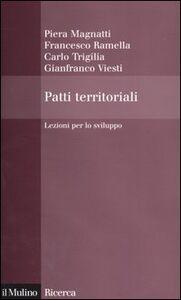 Libro Patti territoriali. Lezioni per lo sviluppo