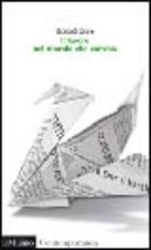 Il lavoro nel mondo che cambia - Ronald P. Dore - copertina