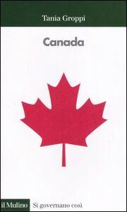 Libro Canada Tania Groppi
