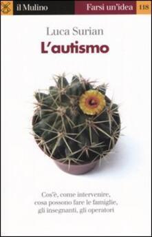L' autismo - Luca Surian - copertina