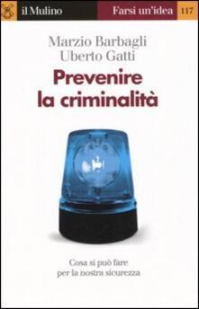 Osteriacasadimare.it Prevenire la criminalità Image
