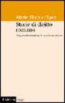 Cefalufilmfestival.it Storie di diritto romano. Origine ed evoluzione di un sistema sociale Image