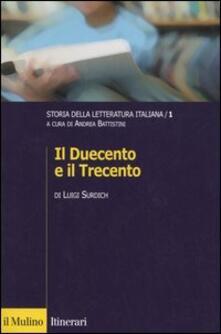 Cefalufilmfestival.it Storia della letteratura italiana. Vol. 1: Il Duecento e il Trecento. Image
