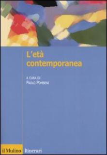 L' età contemporanea - copertina