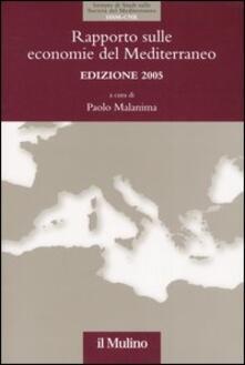 Rapporto sulle economie del Mediterraneo - copertina