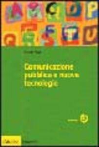 Libro Comunicazione pubblica e nuove tecnologie Mattia Miani