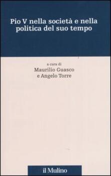 Pio V nella società e nella politica del suo tempo - copertina