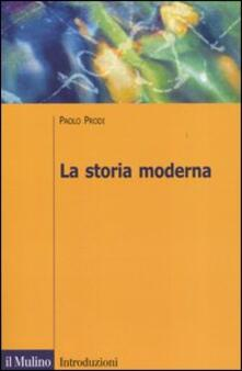 La storia moderna - Paolo Prodi - copertina