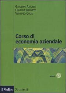 Foto Cover di Corso di economia aziendale, Libro di AA.VV edito da Il Mulino