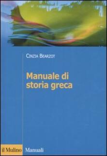 Ipabsantonioabatetrino.it Manuale di storia greca Image