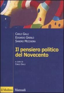 Il pensiero politico del Novecento.pdf