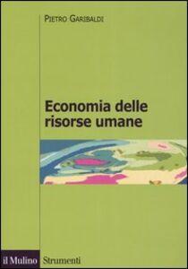 Libro Economia delle risorse umane Pietro Garibaldi