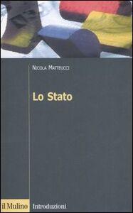 Libro Lo Stato Nicola Matteucci