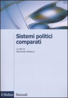 Sistemi politici comparati - copertina
