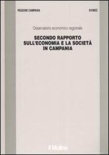 Secondo rapporto sull'economia e la società in Campania - copertina