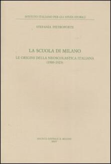 Camfeed.it La scuola di Milano. Le origini della neoscolastica italiana (1909-1923) Image